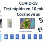 COVID-19 TEST SEROLÓGICO RÁPIDO IgG/IgM | Médico | Dénia-Javea