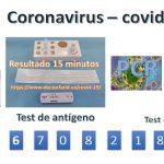 100 EUROS PRUEBA PCR | 40 EUROS TEST RAPIDO | COVID-19 – CORONAVIRUS