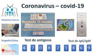 El test de antígeno, es el sustituto del PCR para el COVID-19